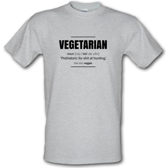 Vegetarian Definition t-shirts