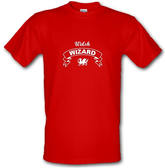 Welsh Wizard t-shirts