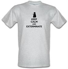 Keep Calm And Exterminate t shirt