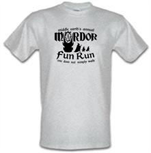 Mordor Fun Run t shirt