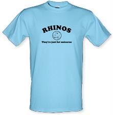 RHINOS, They're just fat unicorns t shirt