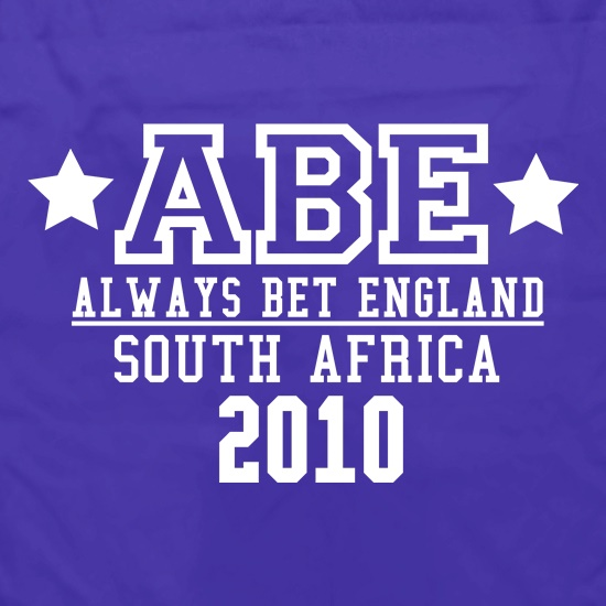 ABE Always Bet England Apron