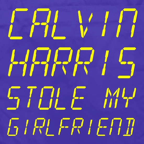 Calvin Harris Stole My Girlfriend Apron