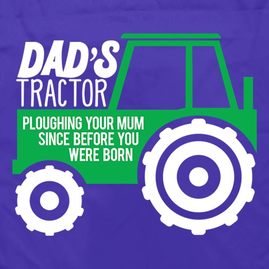 Dad's Tractor: Ploughing Your Mum Apron