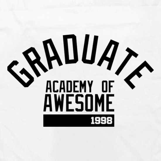 Graduate Academy Of Awesome 1998 Apron