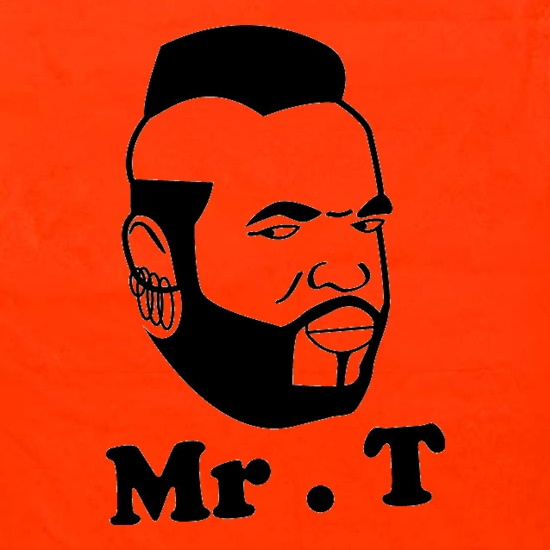 Mr T Shirt Apron