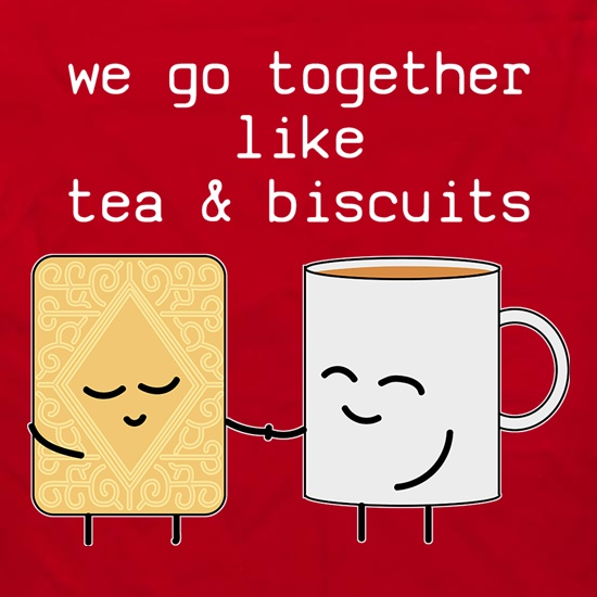 We Go Together Like Tea & Biscuits Apron