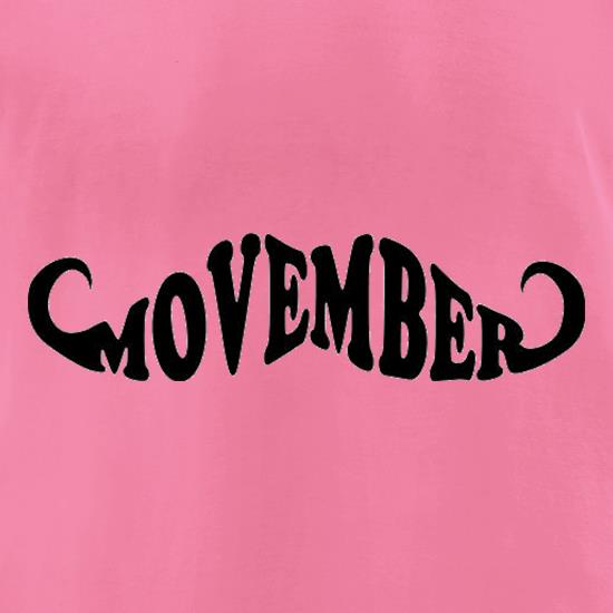 Movember 2 t-shirts for ladies