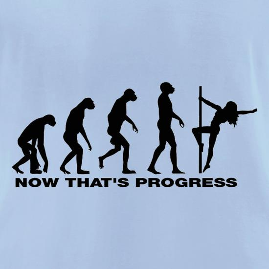 Now That's Progress t-shirts for ladies