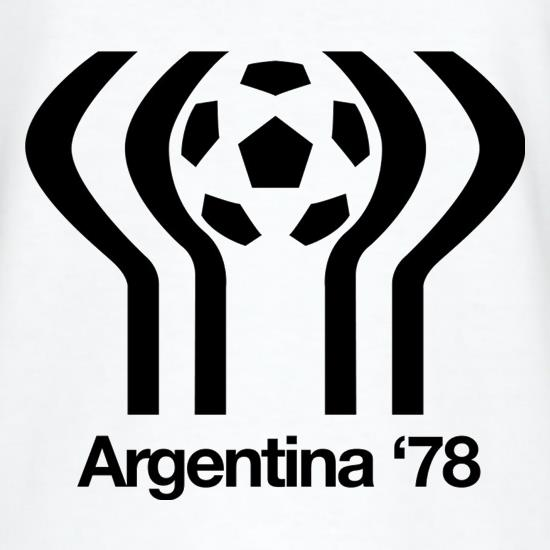 1978 World Cup Argentina T-Shirts for Kids