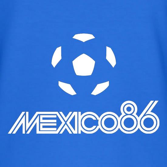 1986 World Cup Mexico T-Shirts for Kids