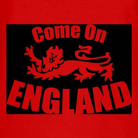 Come On England T-Shirts for Kids