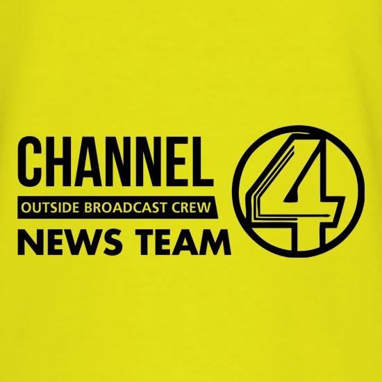 Anchorman - channel 4 outside broadcast T-Shirts for Kids