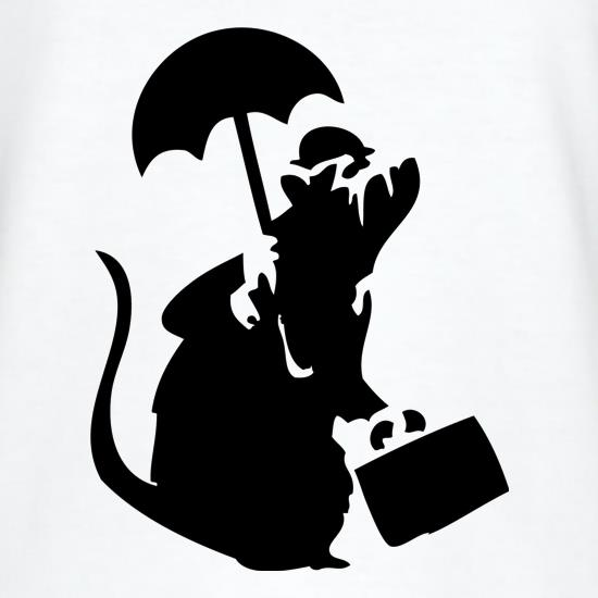 Banksy - Executive Rat T-Shirts for Kids