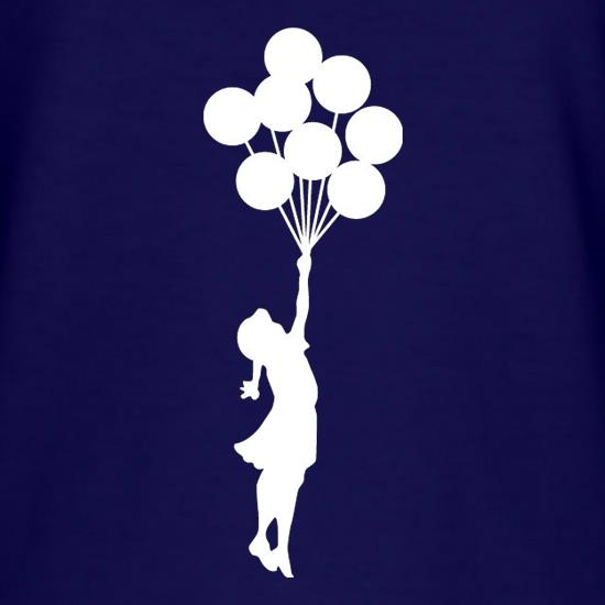 Banksy Girl T-Shirts for Kids