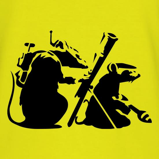 Banksy - guerilla rats T-Shirts for Kids