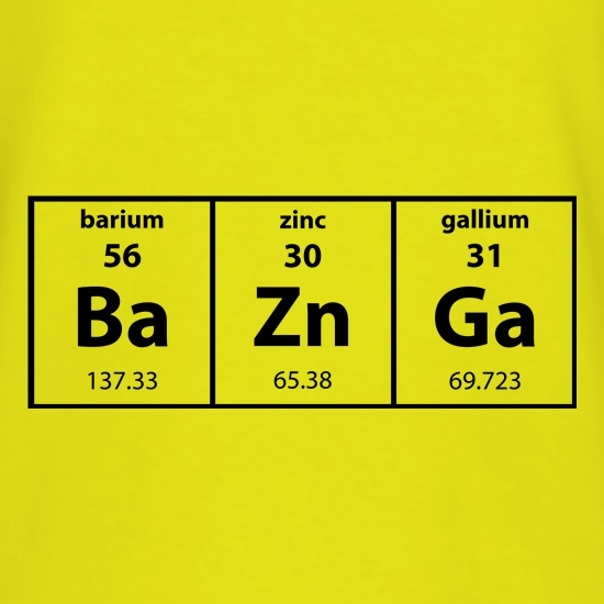 Baznga Periodic Table T-Shirts for Kids