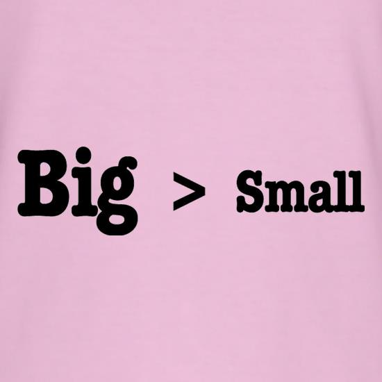 Big Small T-Shirts for Kids