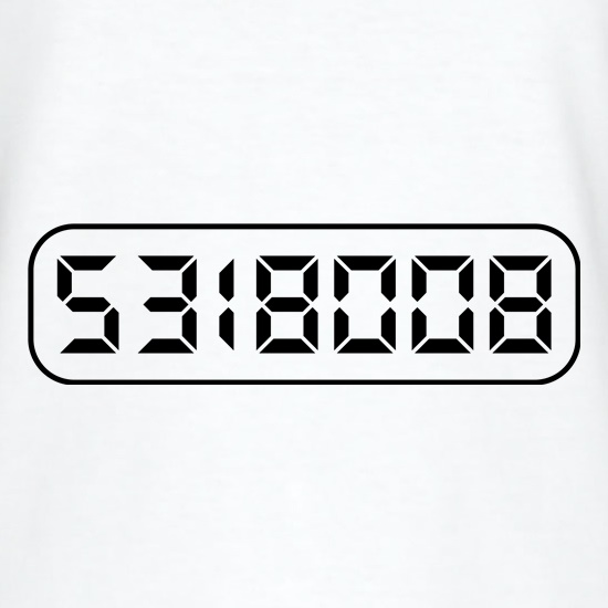 Calculator Boobies T-Shirts for Kids