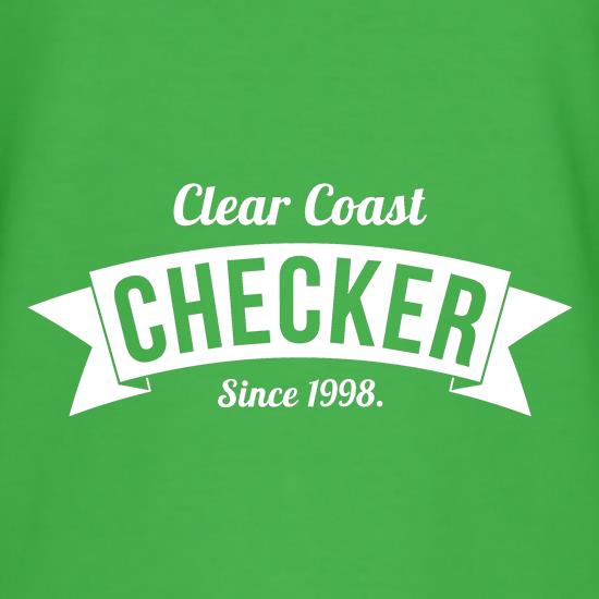 Clear Coast Checker T-Shirts for Kids