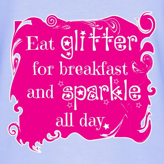Eat Glitter and Sparkle T-Shirts for Kids