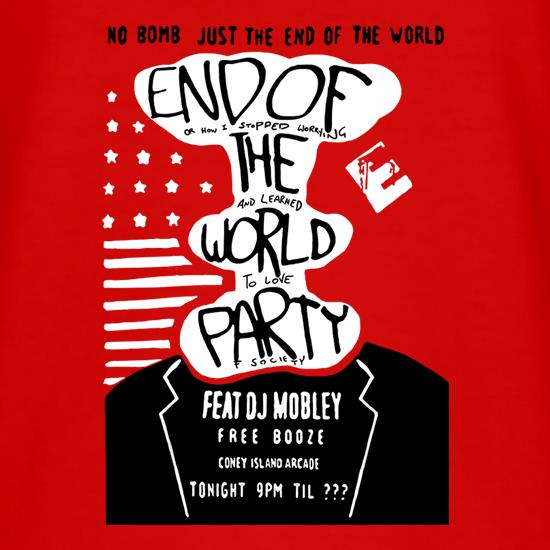 End Of The World Party T-Shirts for Kids