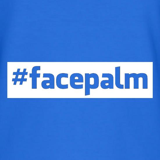 Face Palm T-Shirts for Kids