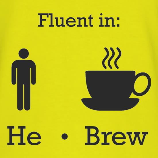 Fluent In He Brew T-Shirts for Kids