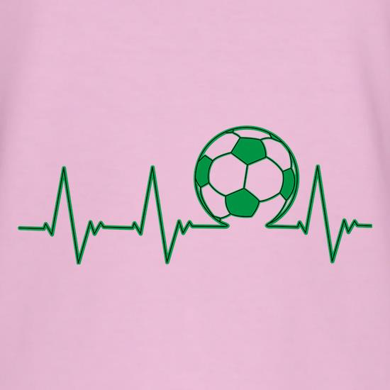 Football Heartbeat T-Shirts for Kids