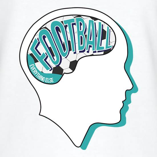 Football On The Brain T-Shirts for Kids