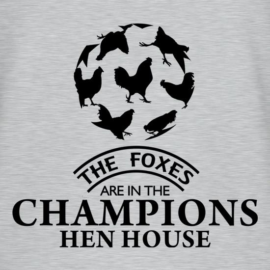 Foxes in the Champion's Henhouse T-Shirts for Kids