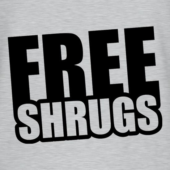 Free Shrugs T-Shirts for Kids