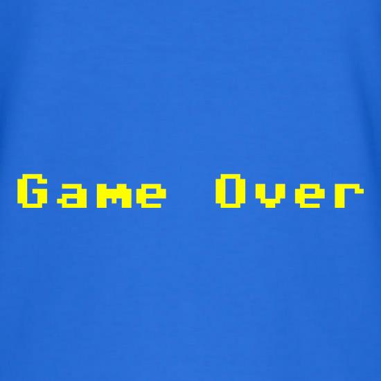Game Over Player T-Shirts for Kids