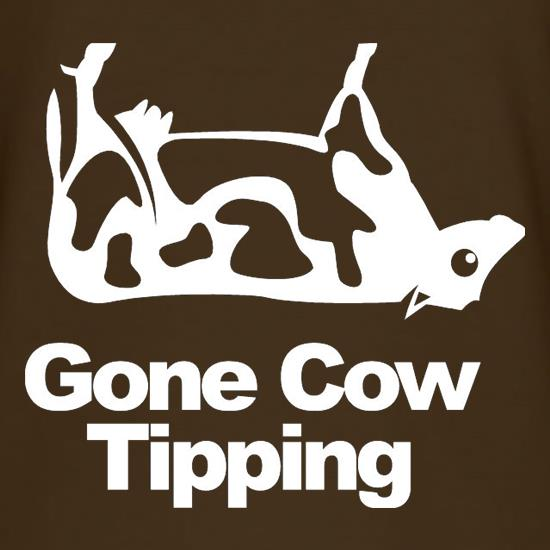 Gone Cow Tipping T-Shirts for Kids