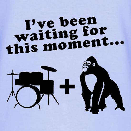 Gorilla + Drums T-Shirts for Kids