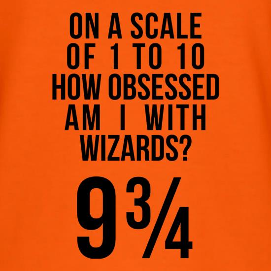 How Obsessed With Wizards Am I? T-Shirts for Kids