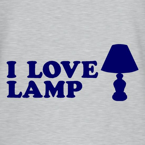 I Love Lamp T-Shirts for Kids