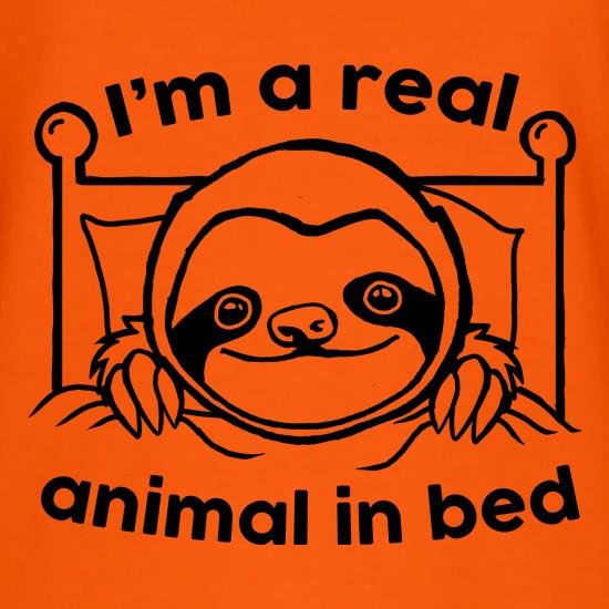 I'm A Real Animal In Bed T-Shirts for Kids