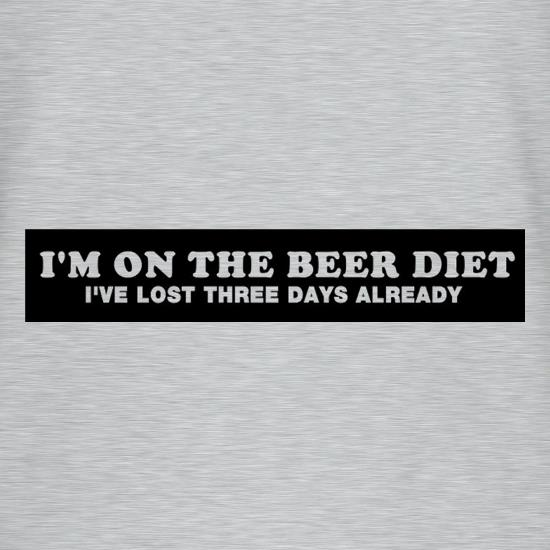I'm On The Beer Diet I've Lost Three Days Already T-Shirts for Kids