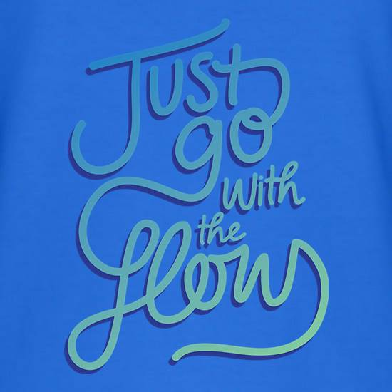 Just Go With The Flow T-Shirts for Kids