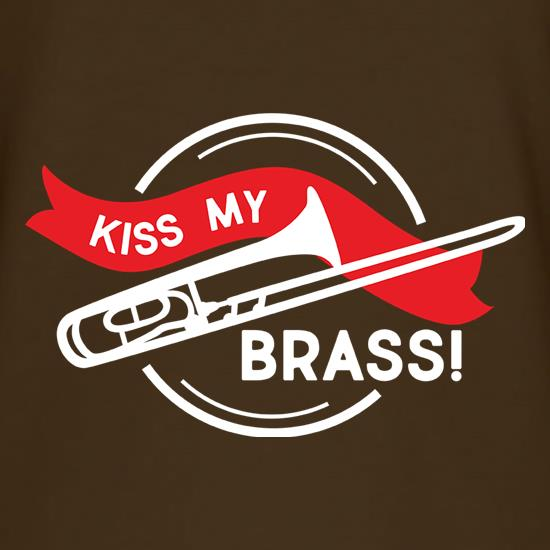 Kiss My Brass T-Shirts for Kids