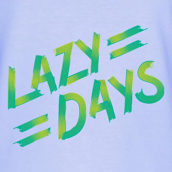 Lazy Days T-Shirts for Kids