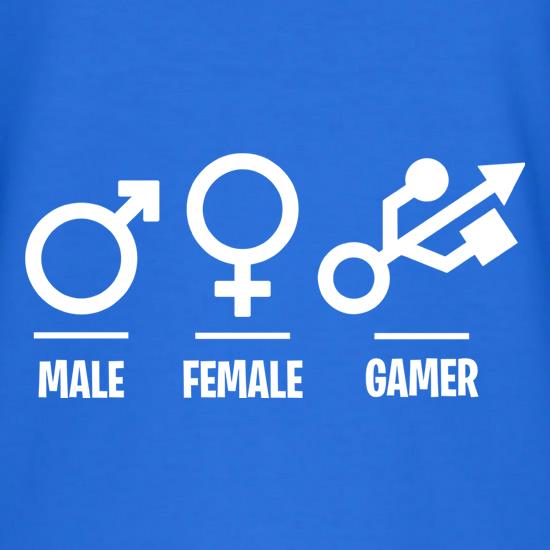 Male/Female/Gamer T-Shirts for Kids