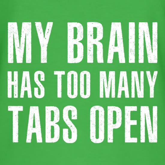 My Brain Has Too Many Tabs Open T-Shirts for Kids