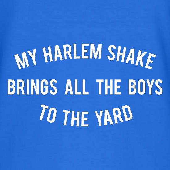 My Harlem Shake Brings All The Boys To The Yard T-Shirts for Kids