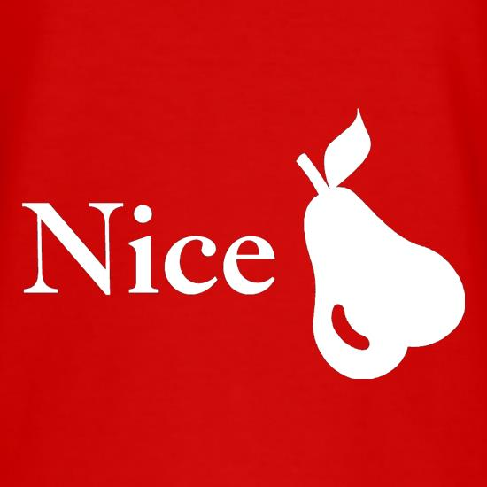 Nice Pear T-Shirts for Kids