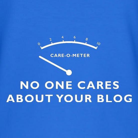 No One Cares About Your Blog T-Shirts for Kids