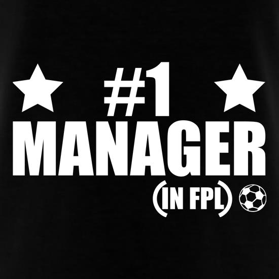 Number 1 FPL Manager T-Shirts for Kids