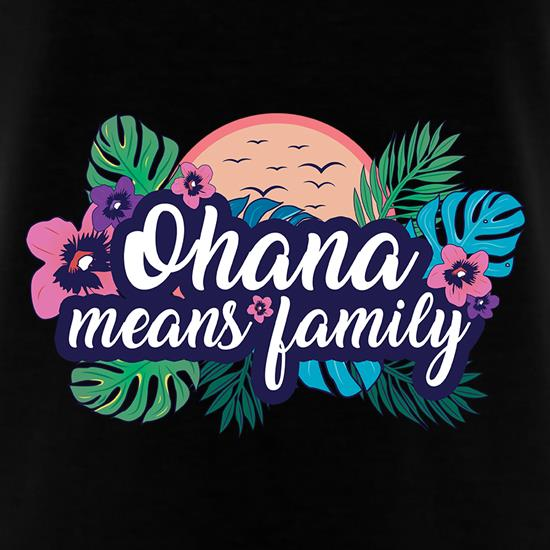 Ohana Means Family T-Shirts for Kids