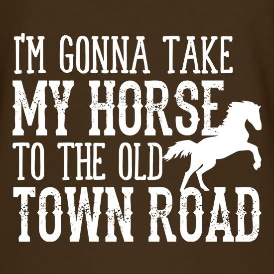 Old Town Road T-Shirts for Kids